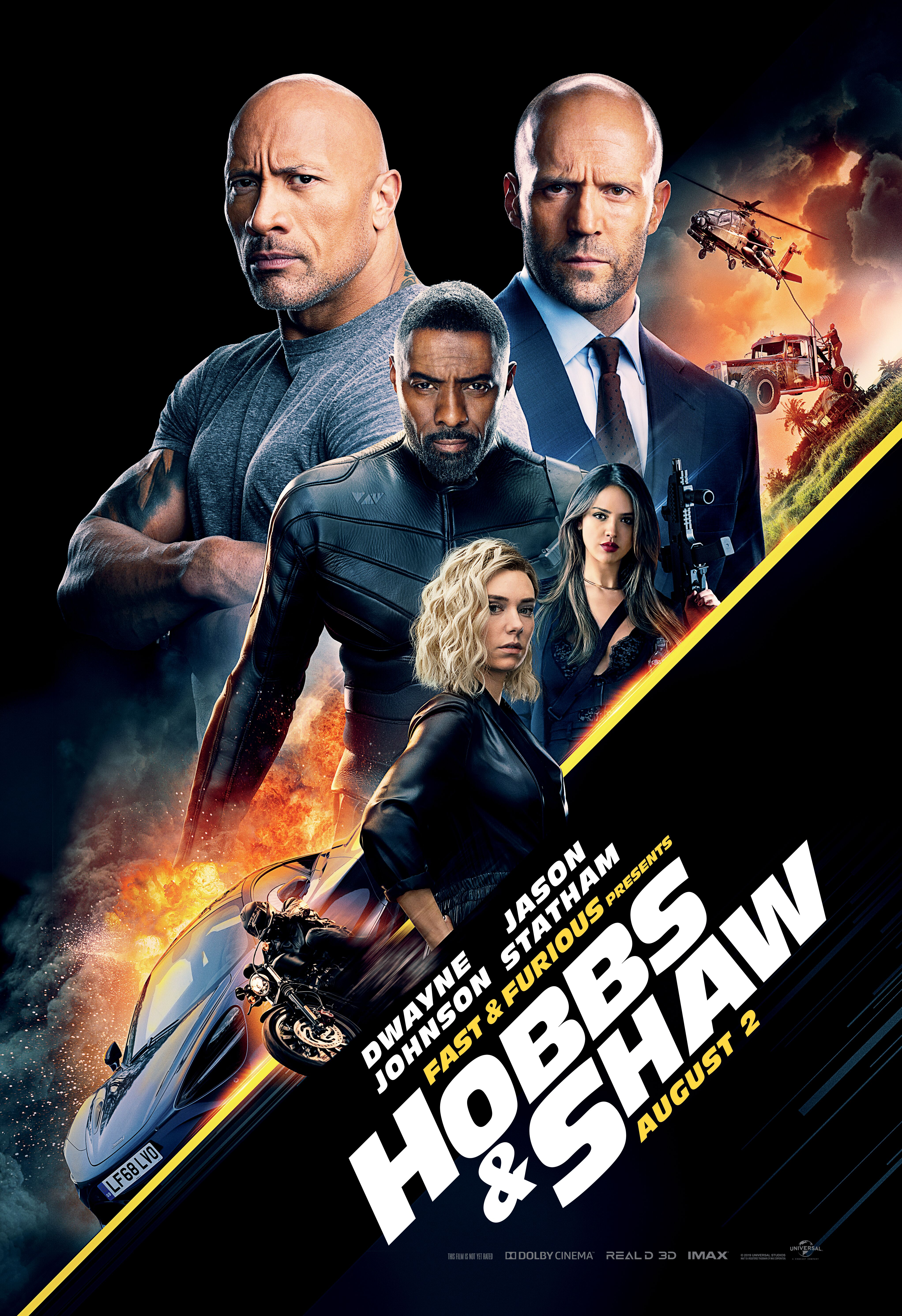 Fast & Furious Presents: Hobbs & Shaw (2019) HDTS 720p
