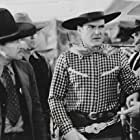 Edward Coxen, James A. Marcus, Ken Maynard, Jack Rockwell, and Robert Walker in King of the Arena (1933)