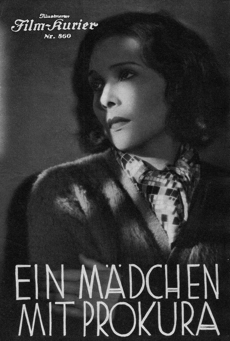 Gerda Maurus in Ein Mädchen mit Prokura (1934)