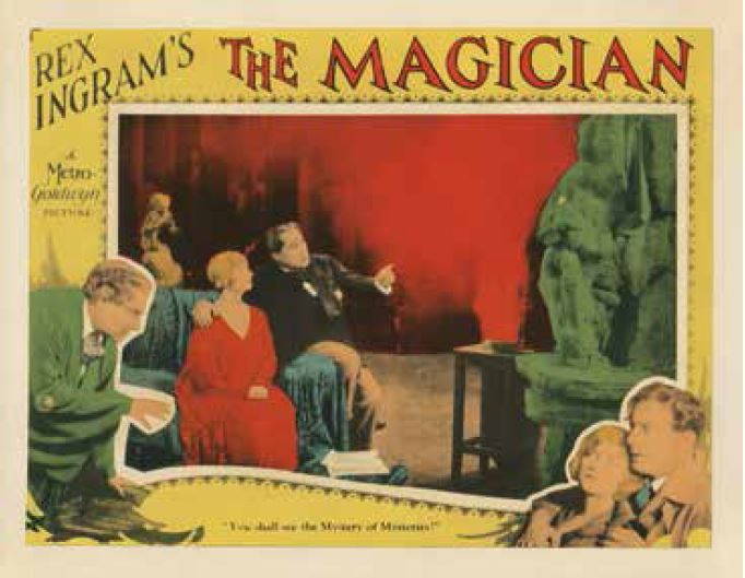 Firmin Gémier, Alice Terry, and Paul Wegener in The Magician (1926)