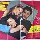 Sherilyn Fenn, William Baldwin, and Kelly Lynch in Three of Hearts (1993)