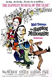 The Happiest Millionaire (1967) Poster - Movie Forum, Cast, Reviews