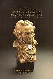 I premios Goya Poster