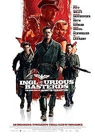 Brad Pitt, Til Schweiger, Mélanie Laurent, Eli Roth, Christoph Waltz, and Diane Kruger in Inglourious Basterds (2009)