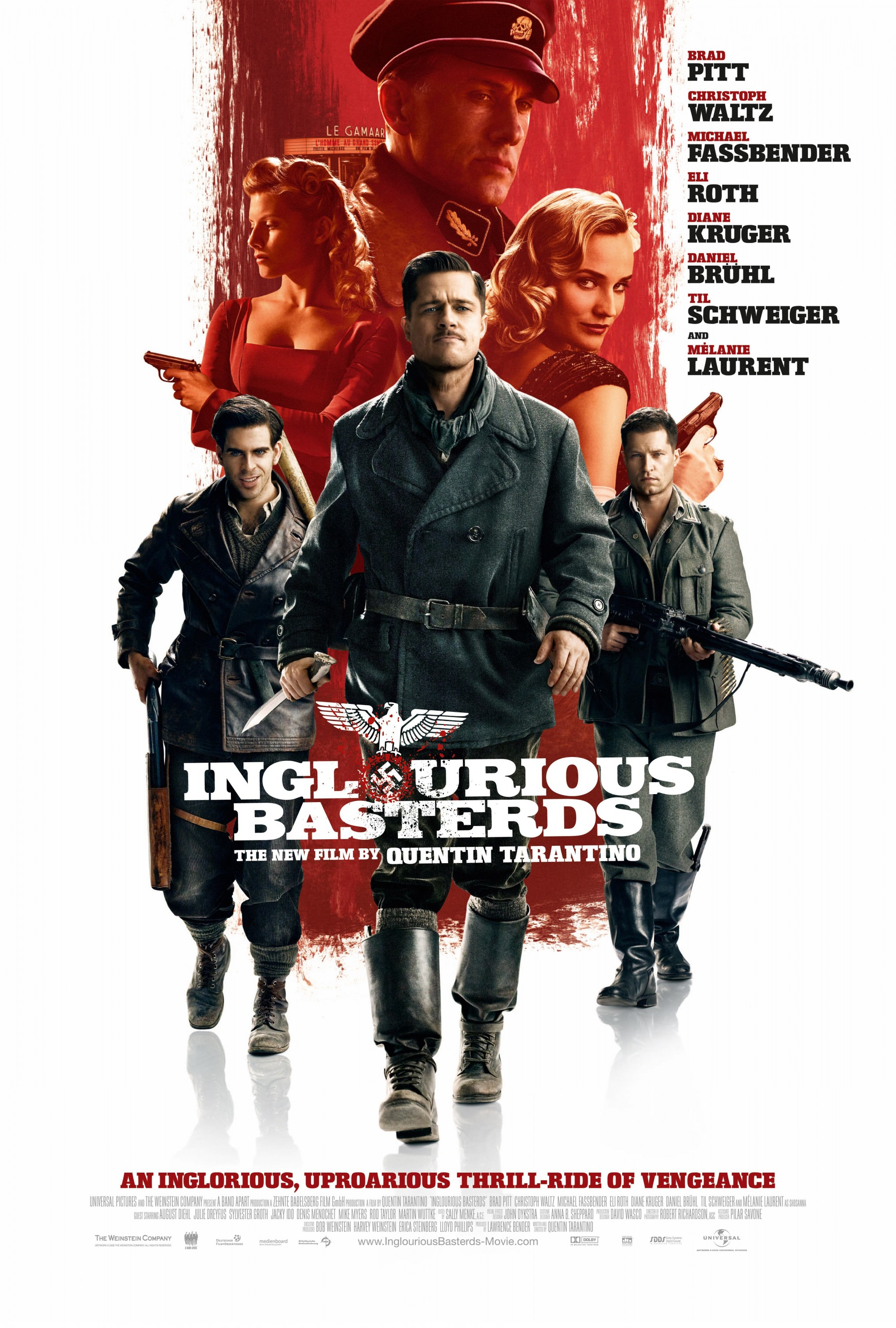 Inglourious Basterds (2009) BluRay 720p & 1080p