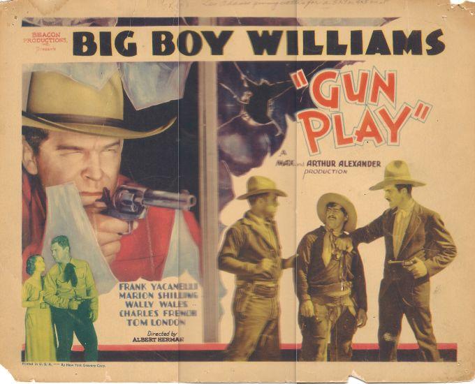 Art Dillard, Gordon Griffith, Marion Shilling, Guinn 'Big Boy' Williams, and Frank Yaconelli in Gun Play (1935)