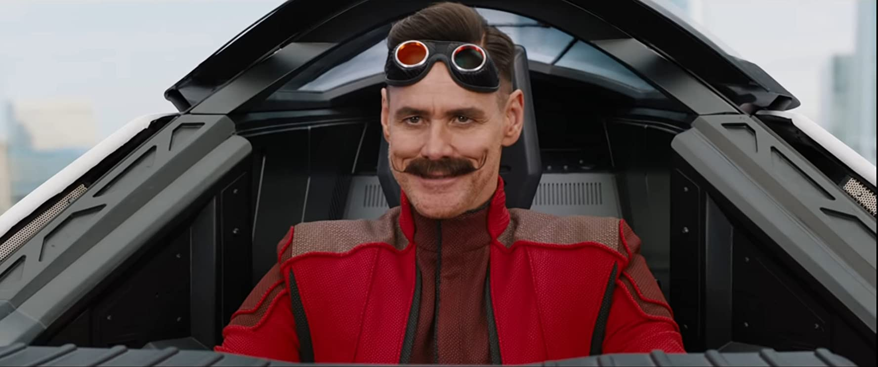 Jim Carrey in Sonic the Hedgehog (2020)