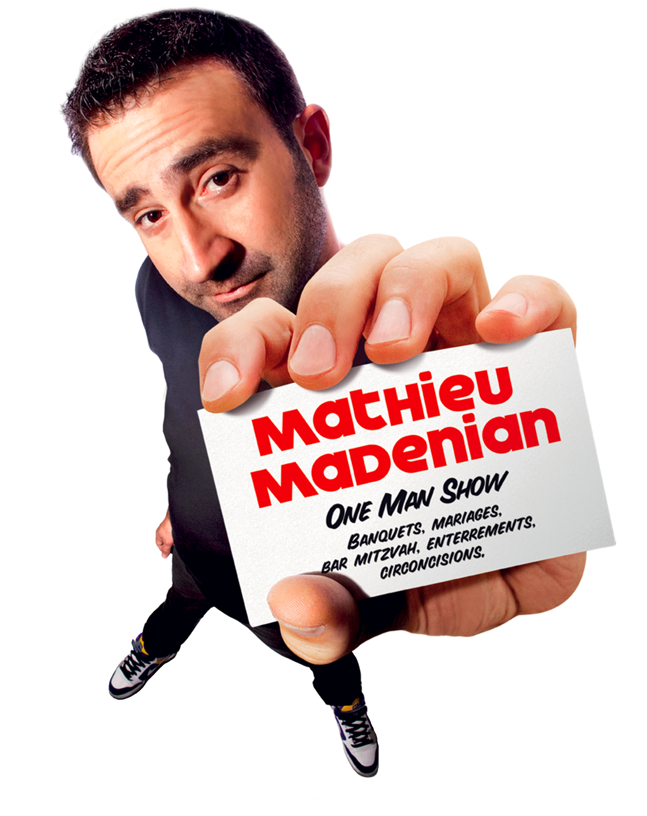 mathieu madenian one man show