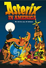 Asterix in America Poster