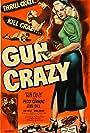 Peggy Cummins, John Dall, and Berry Kroeger in Gun Crazy (1950)