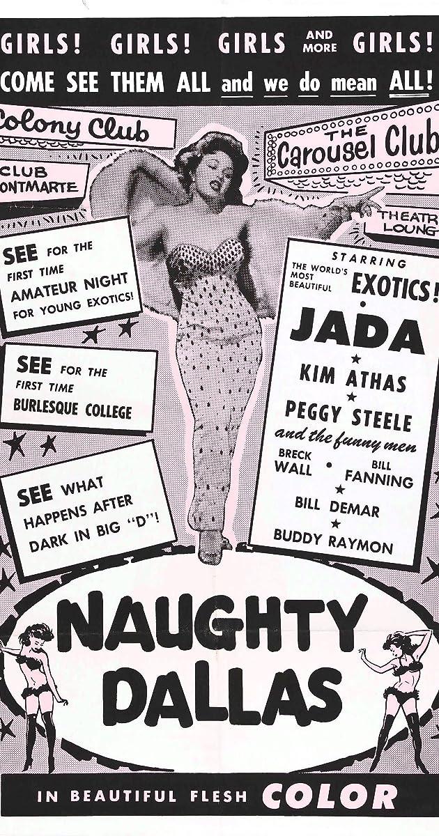 Larry Buchanan/'s Naughty Dallas 1964 movie poster print