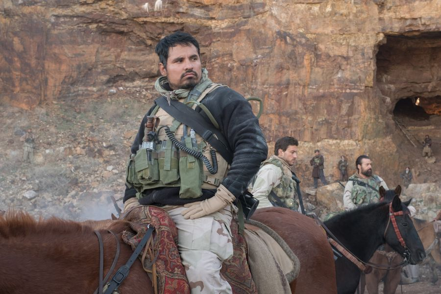 Michael Peña in 12 Strong (2018)
