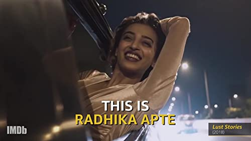 "Radhika Apte of ""Ghoul"": ""No Small Parts"""