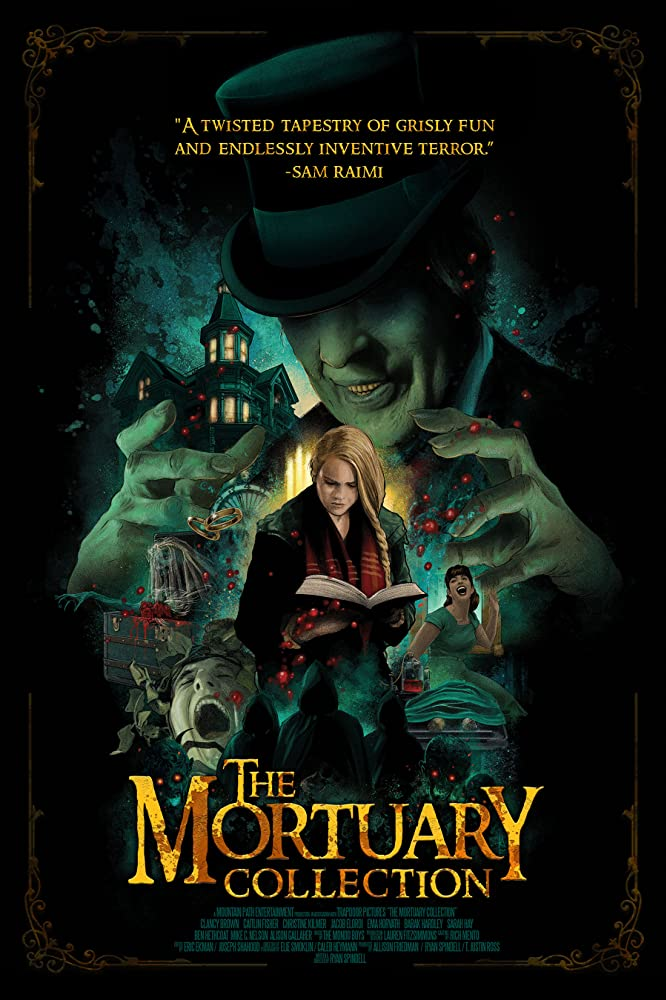 The Mortuary Collection 2020 English 720p HDRip ESubs 800MB | 350MB Download
