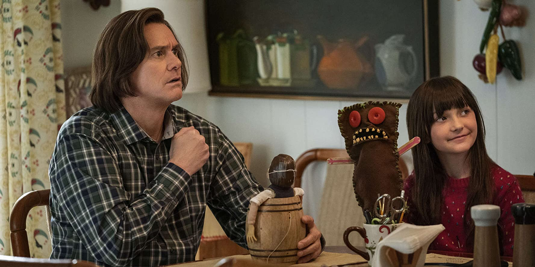 Jim Carrey and Juliet Morris in Kidding (2018)