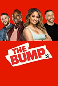 Matt Camp, Ryan Pappolla, Evan Mack, and Kayla Becker in WWE's the Bump (2019)