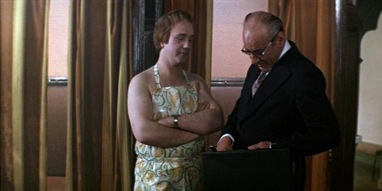 Rodion Aleksandrov and Leonid Kuravlyov in Ty - mne, ya - tebe (1977)