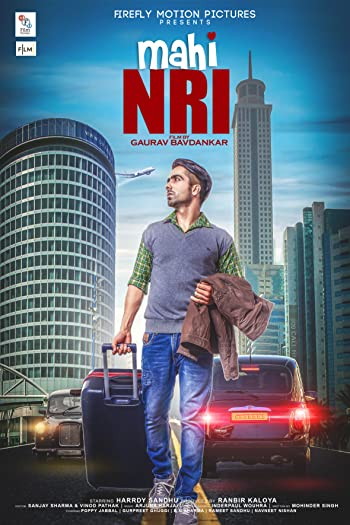 Poster of Mahi NRI 2017 Full Punjabi Free Download Watch Online In HD Movie Download 720p HDRip