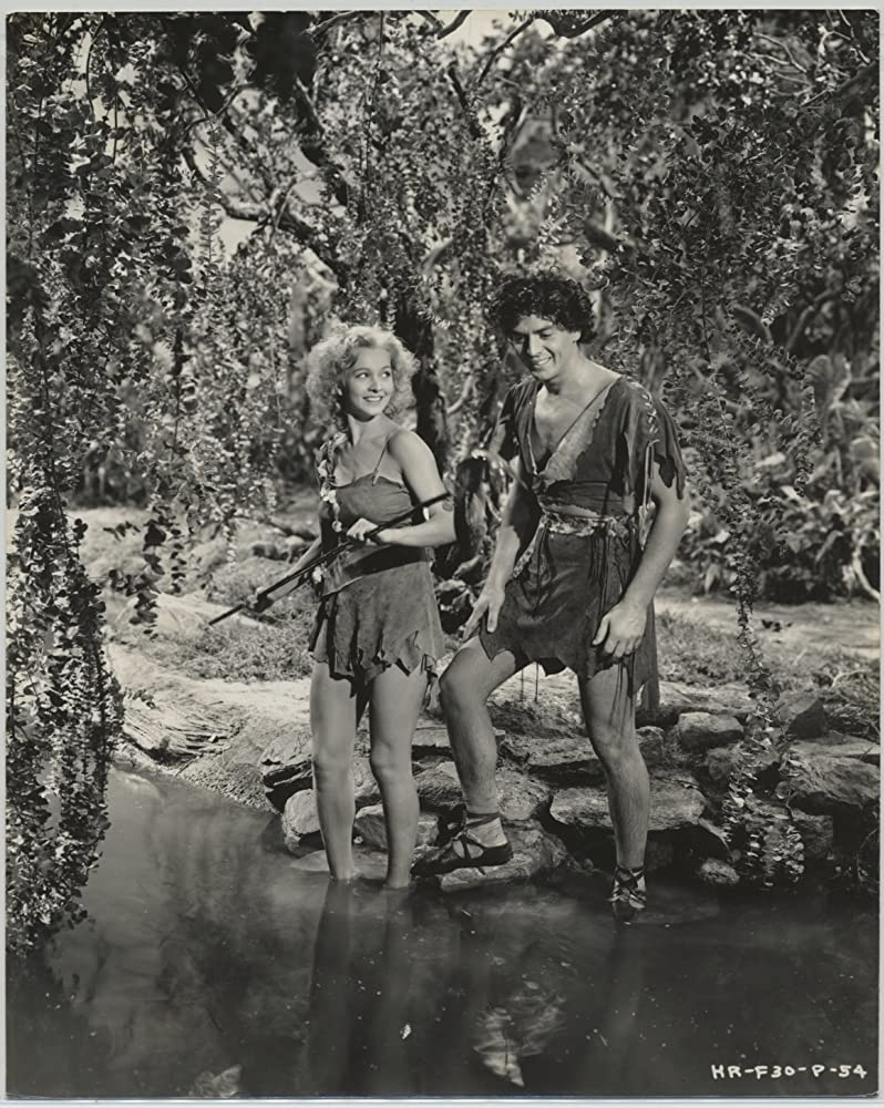 Victor Mature and Carole Landis in One Million B.C. (1940)