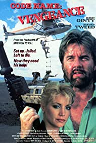 Shannon Tweed and Robert Ginty in Code Name Vengeance (1987)
