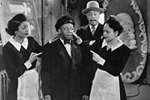 Louise Franklin, Suzette Harbin, Mantan Moreland, and Roland Winters in The Sky Dragon (1949)