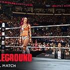 Brie Bella, Sarona Snuka, Ashley Fliehr, and Sasha Banks in WWE Battleground (2015)