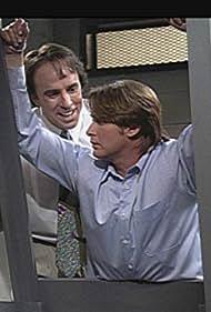 Emilio Estevez and Kevin Nealon in Saturday Night Live (1975)