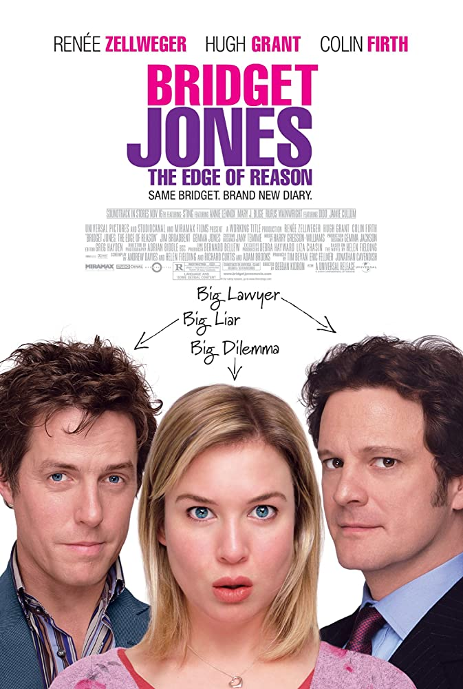 Bridget Jones: The Edge of Reason 2004 Hindi Dual Audio 400MB BluRay ESubs Download