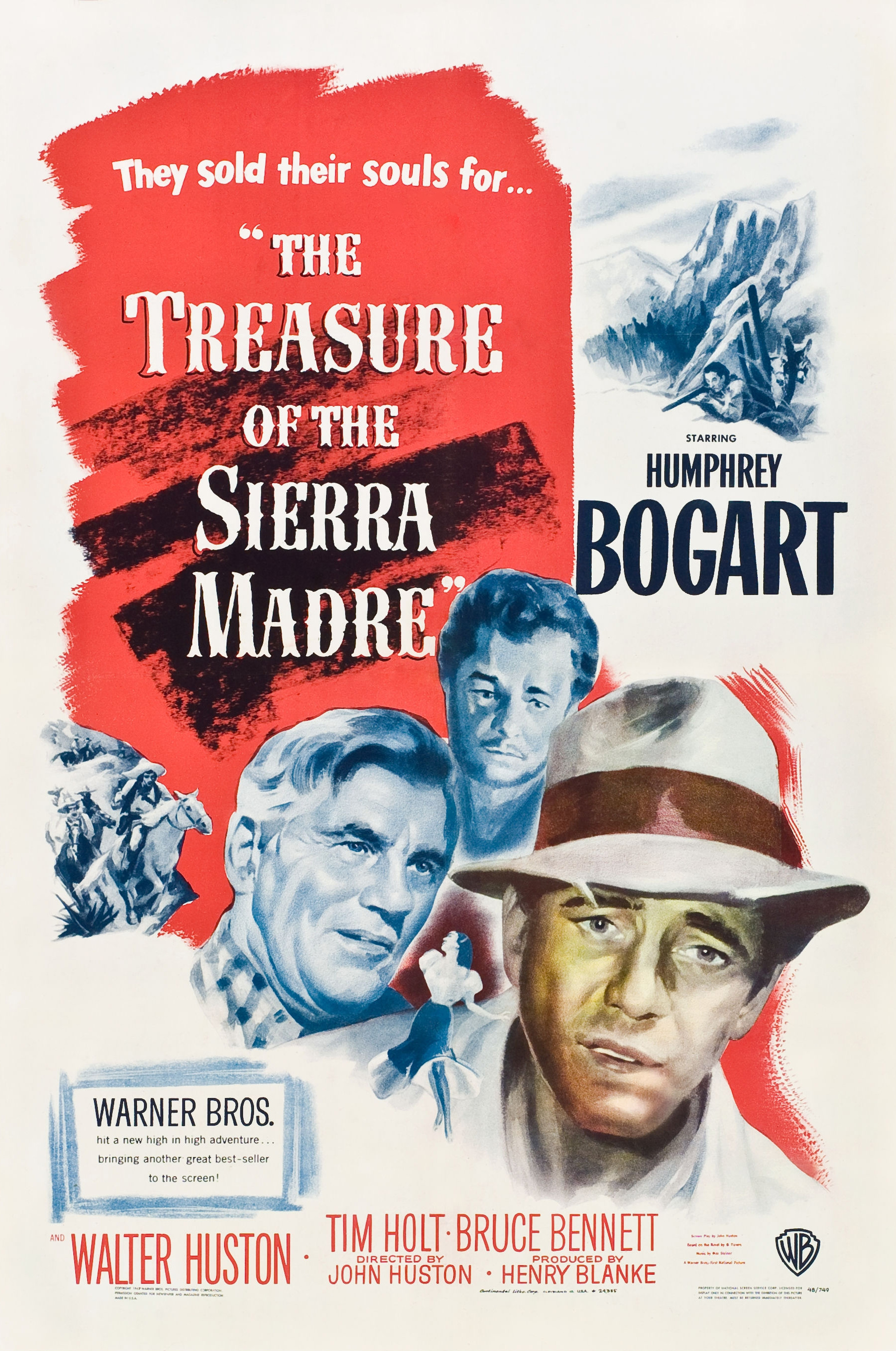 SIERA MADRĖS LOBIS SKAITYKITE (1948) / THE TREASURE OF THE SIERRA MADRE
