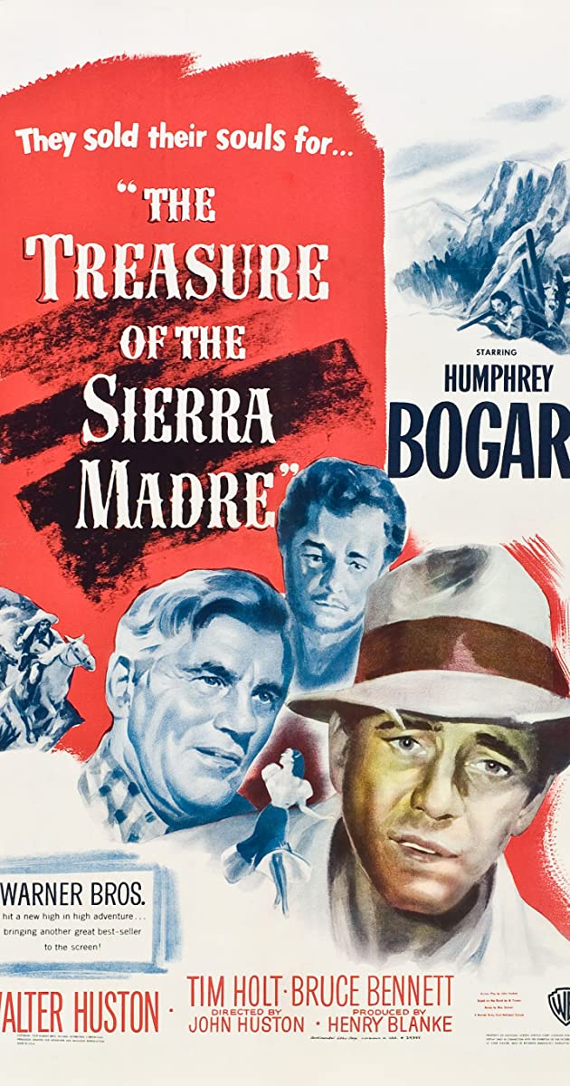 Subtitle of The Treasure of the Sierra Madre