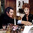 Marcello Mastroianni and Carla Gravina in La terrazza (1980)