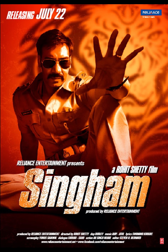 Singham 2011 Hindi BluRay 480p 400MB MKV