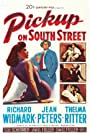 Richard Widmark and Jean Peters in Pickup on South Street (1953)