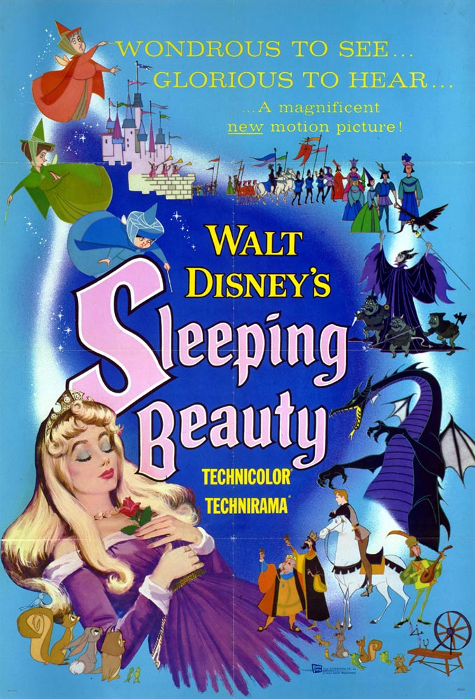 Sleeping Beauty (1959) BluRay 480p, 720p & 1080p