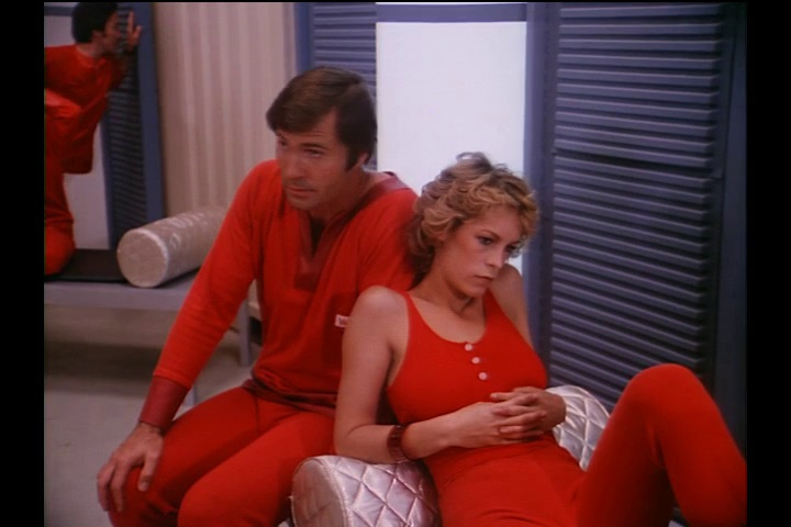 Jamie Lee Curtis and Gil Gerard in Buck Rogers in the 25th Century (1979)