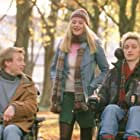Romola Garai, James McAvoy, and Steven Robertson in Inside I'm Dancing (2004)