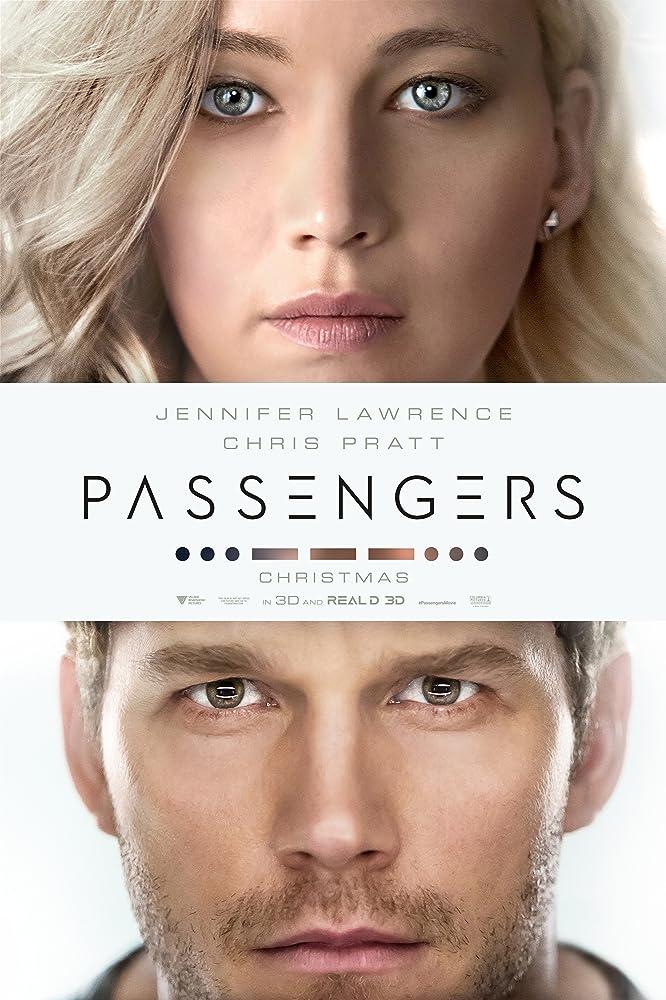 Poster film Passengers.