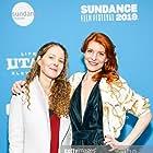 Director Debra Eisenstadt and Actor Keri Safran at the Sundance Premiere of Imaginary Order