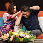 Martin Henderson and Bailee Madison at an event for The Strangers: Prey at Night (2018)