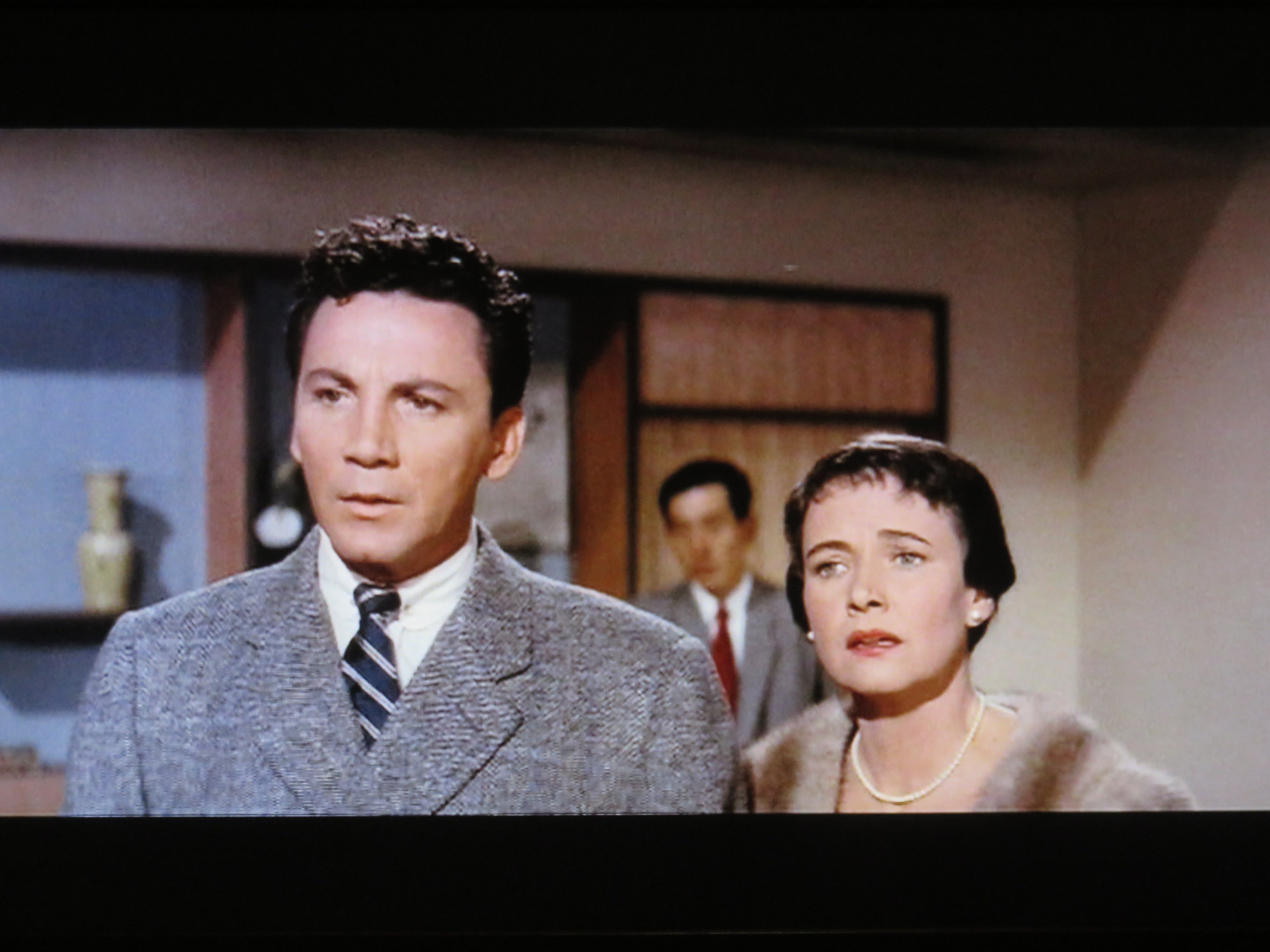 Cameron Mitchell and Teresa Wright in Escapade in Japan (1957)