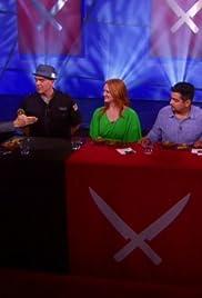 Tournament of Champions: Michael Symon vs. Geoffrey Zakarian: Battle Wings Poster