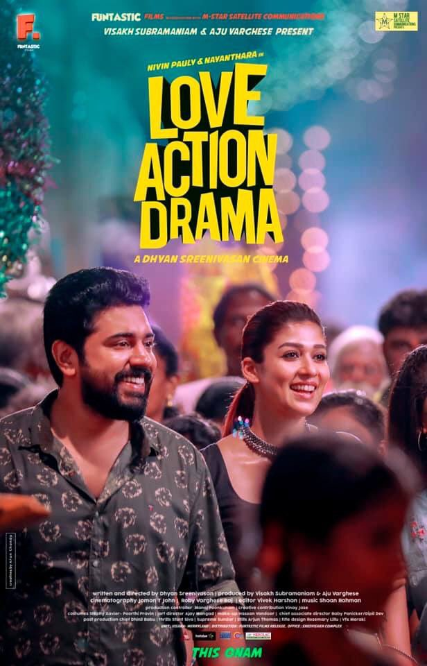 Love Action Drama 2019 Malayalam Full Movie 350MB HDRip ESub Download