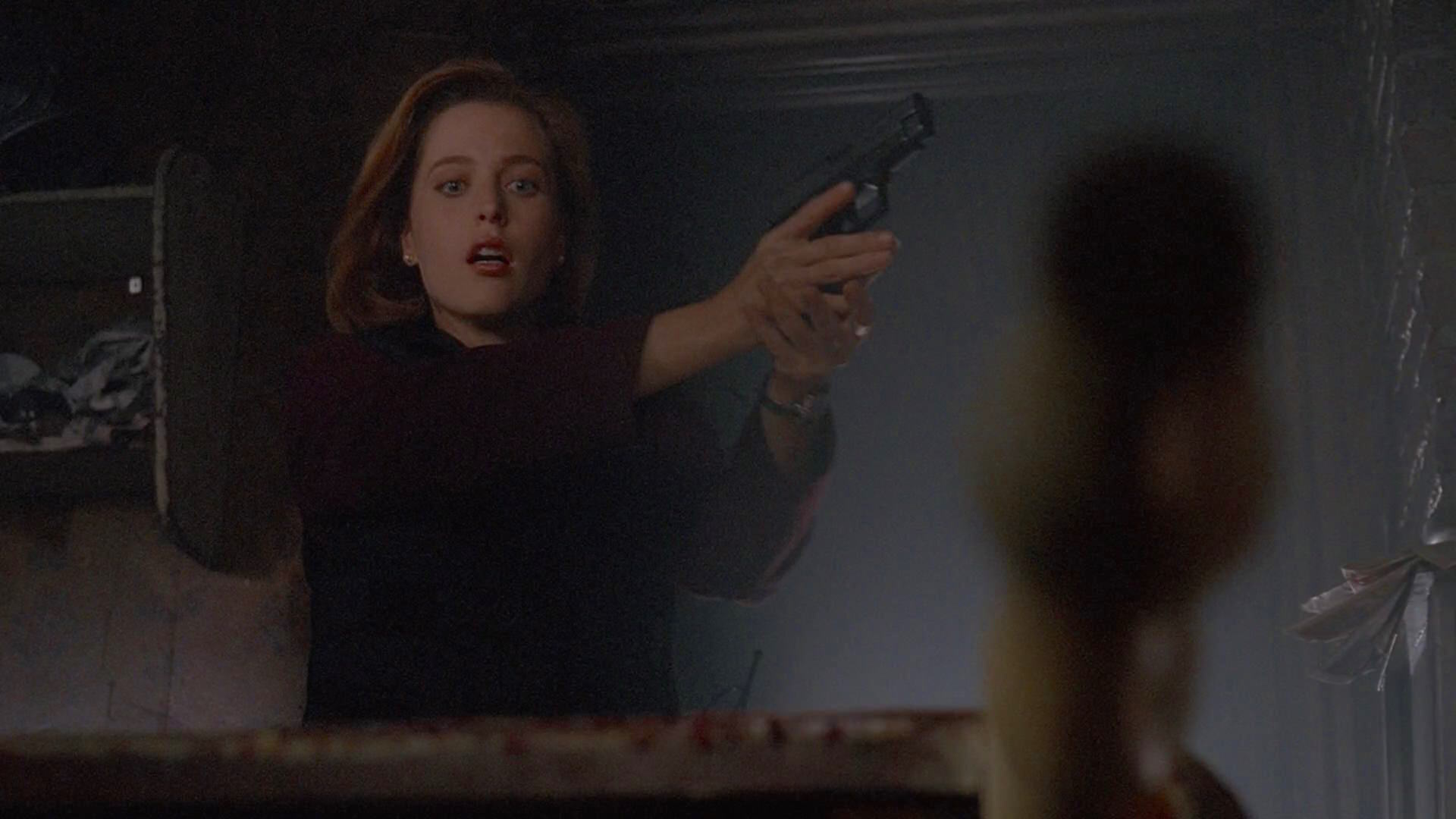 Gillian Anderson in The X Files (1993)