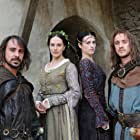 Tom Felton, Emun Elliott, Katie McGrath, and Jessica Brown Findlay in Labyrinth (2012)