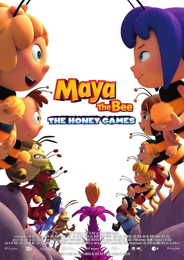 Bitė Maja: Medaus žaidynės (2018) Online