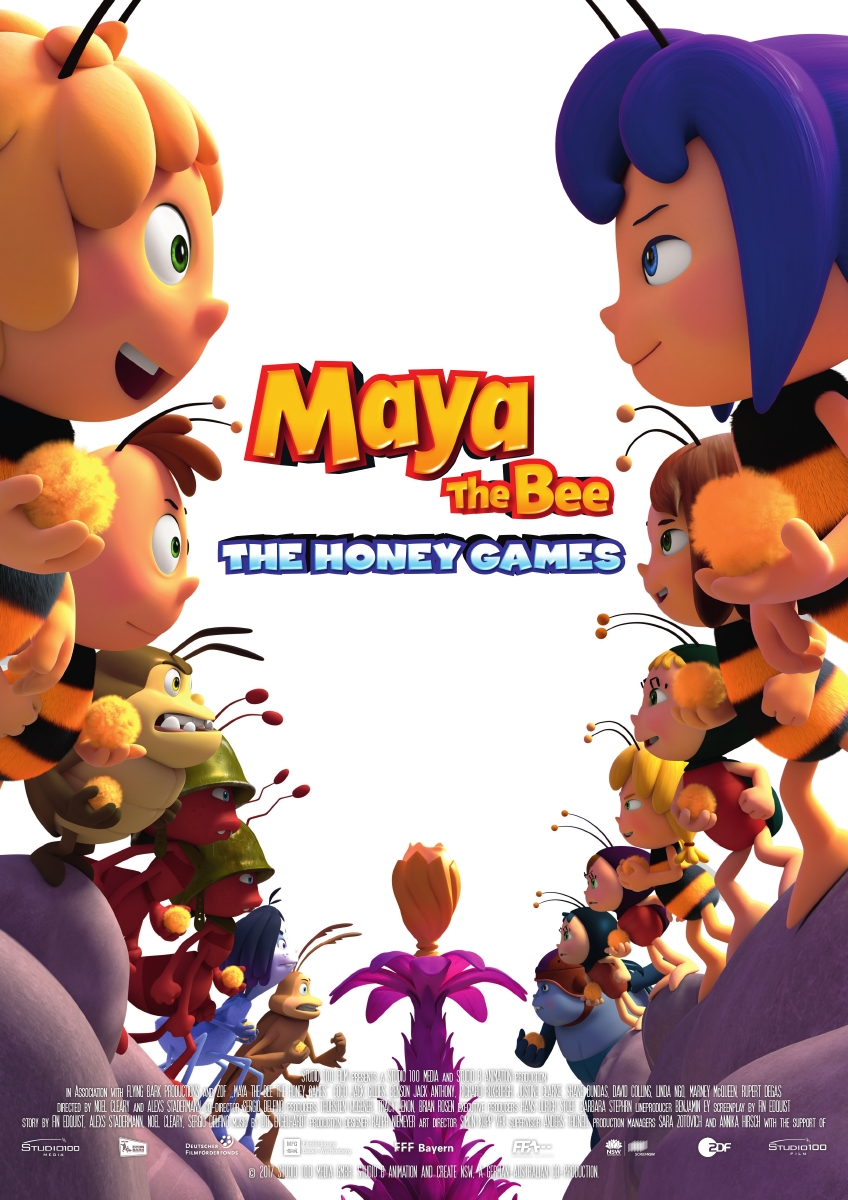 Maya the Bee: The Honey Games (2018) BluRay 480p, 720p & 1080p