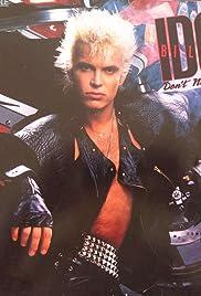 Billy Idol: Don't Need a Gun Poster