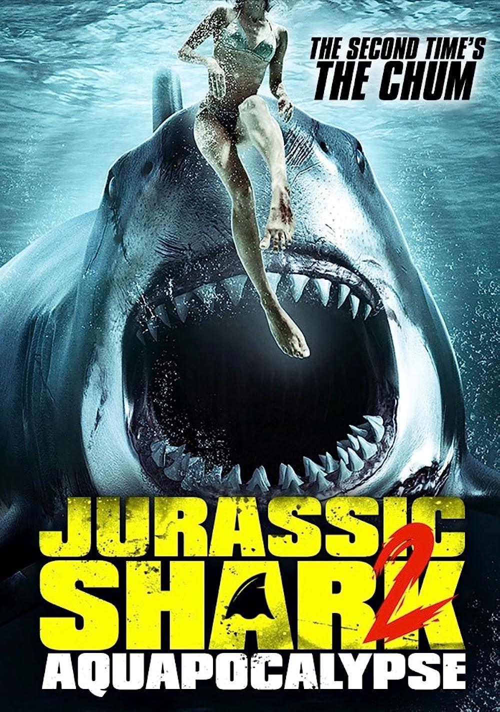 Jurassic Shark 2 Aquapocalypse 2021 English 480p AMZN HDRip ESub 223MB Download