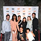 Fab Filippo, Alanna Bale, Gray Powell, Gregory Ambrose Calderone, Amanda Cordner, and Bilal Baig at an event for Sort Of (2021)