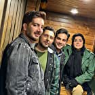 Baran Kosari, Mohammad Reza Ghaffari, Arman Darvish, and Farzad Farzin in Queen of Beggars Aka Malake Gedayan (2021)